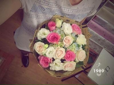 Hoa bó tròn mã - DH96