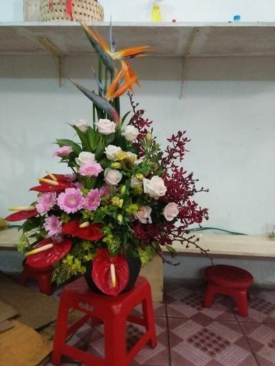 Giỏ hoa - DH305