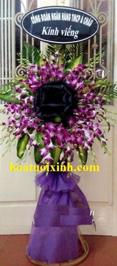 Hoa tang lễ đơn giản mà đẹp - DH231
