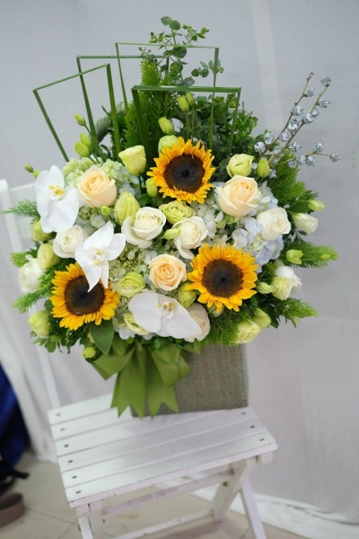 Giỏ hoa - DH409