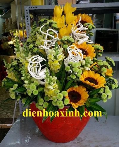Chậu hoa - DH365
