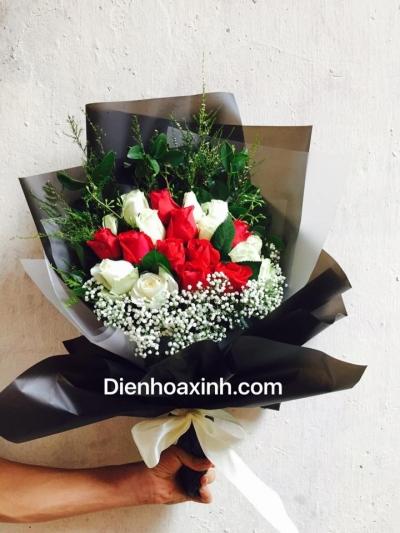 Hoa bó kiểu mới - DH457