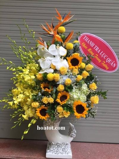 Bình hoa chúc mừng sang - DH2056