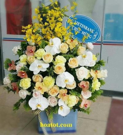 Hoa hộp đẹp - DH513