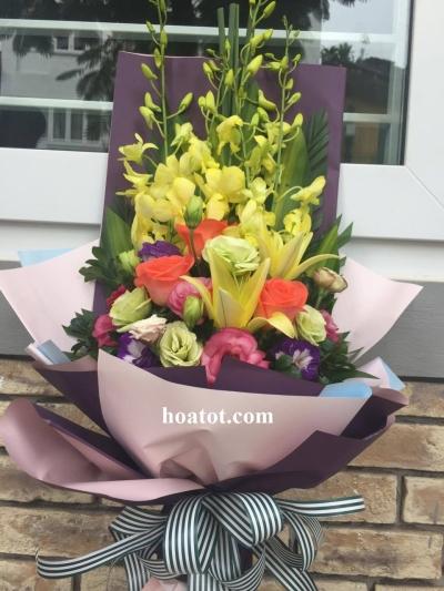 Bó hoa dài - DH520
