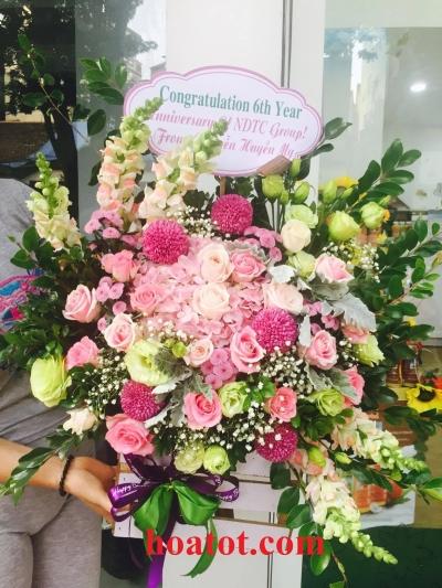 Mẫu hoa mới đẹp -DH575