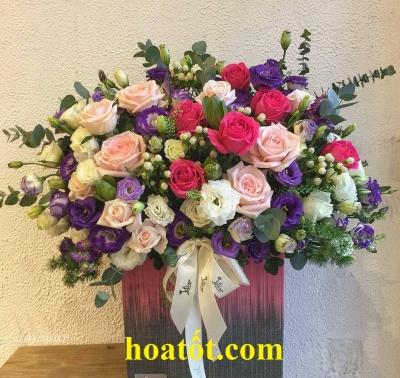 Hộp hoa hiện đại - DH587