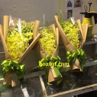 Bó hoa lan vàng DH615