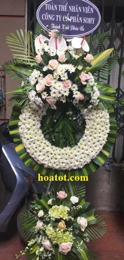Hoa tang lễ màu trắng - DH656