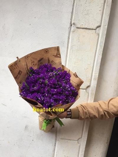 Bó hoa salem tím - DH630