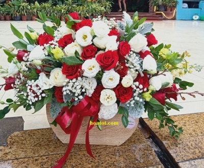 Giỏ hoa - DH834