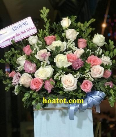 Giỏ hoa chúc mừng - DH670