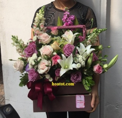 Hoa giỏ - DH673