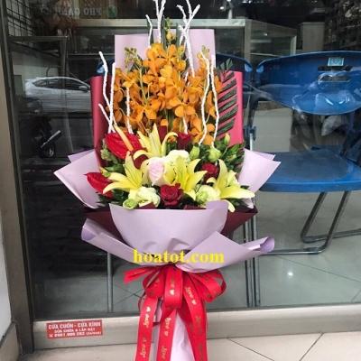 Hoa bó dài đẹp - DH635