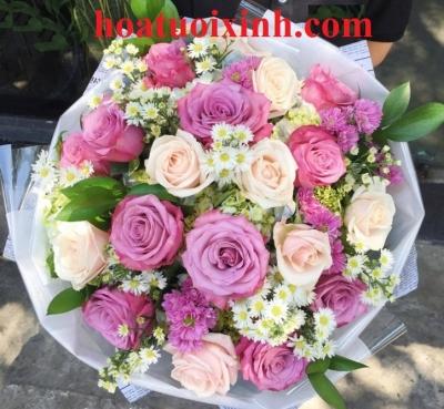 Hoa bó tròn - DH171
