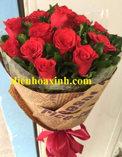 Hoa bó tròn - DH352