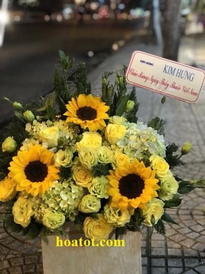 Giỏ hoa - DH674