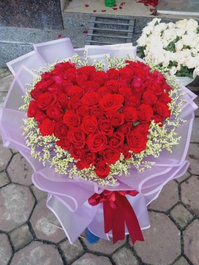 Giỏ hoa tình yêu - DH476