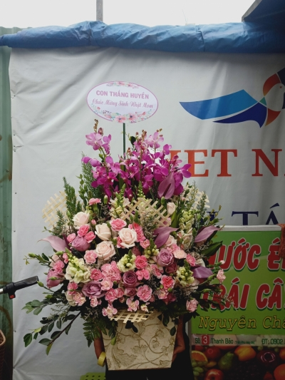 Bình hoa mừng sinh nhật - DH469