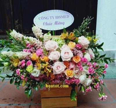 Hộp hoa dáng bay - DH732