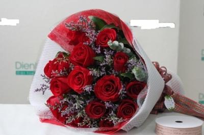 Bó hoa hồng đẹp mã DH242