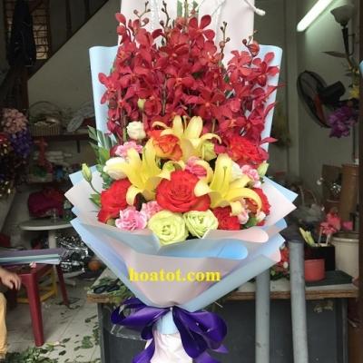 Bó hoa dài tặng kỷ niệm - DH682