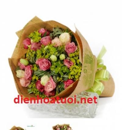 Hoa tươi đẹp-  DH180