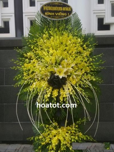 Vòng hoa đám ma - DH509