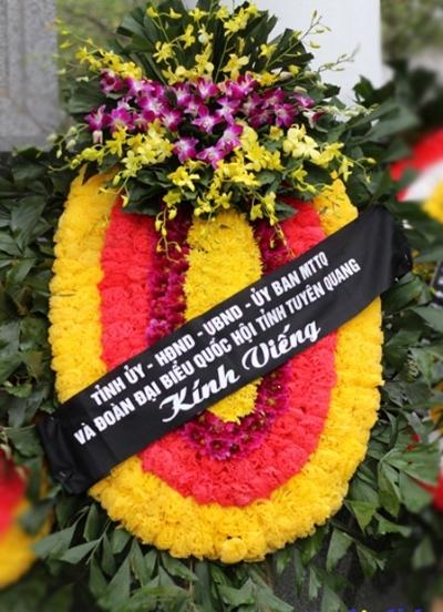 Hoa tang lễ - DH118