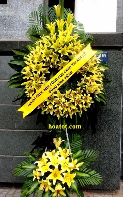 Hoa tang lễ chia ly - DH657