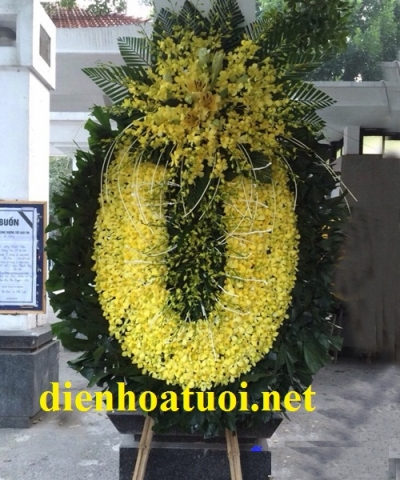 Hoa tang lễ - DH393