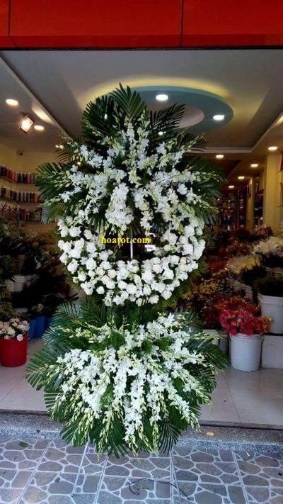 Hoa tang màu trắng - DH738