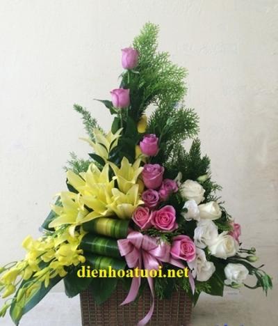 Hoa chúc mưng - DH160