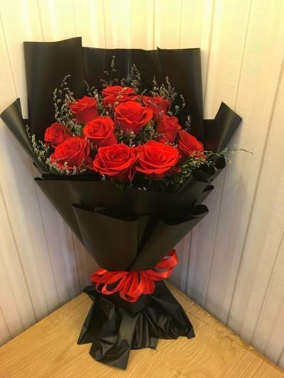 Bó hoa đơn giản mà đẹp - DH609