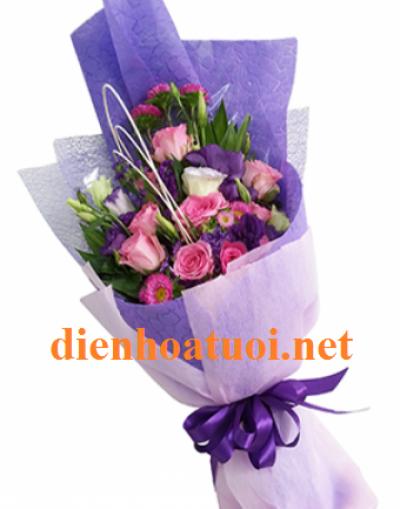 Hoa bó dài giá rẻ - DH369