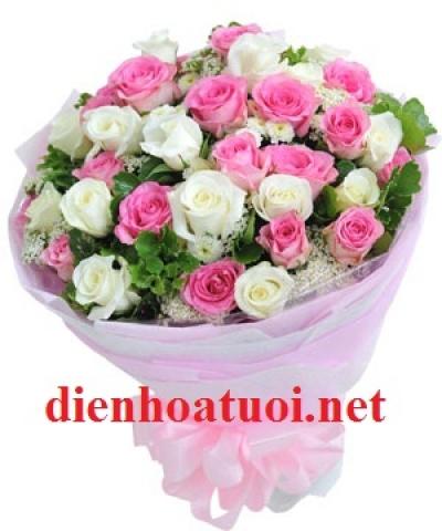 Bó hoa tròn - DH205