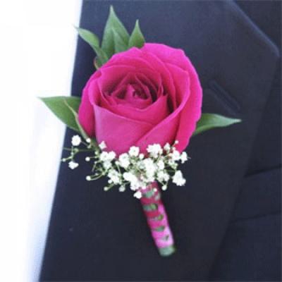 Hoa cài áo chú rể- DH243