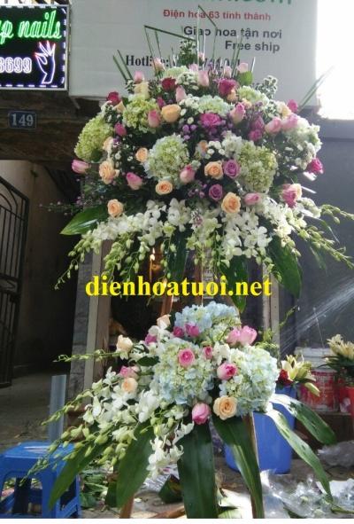 Lẵng hoa chúc mừng - DH375