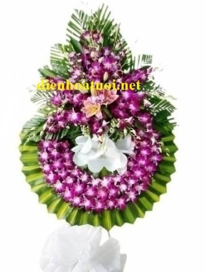 Hoa tang lễ màu tím - DH399