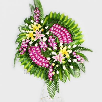 Hoa tang lễ hoa chia buồn - DH250
