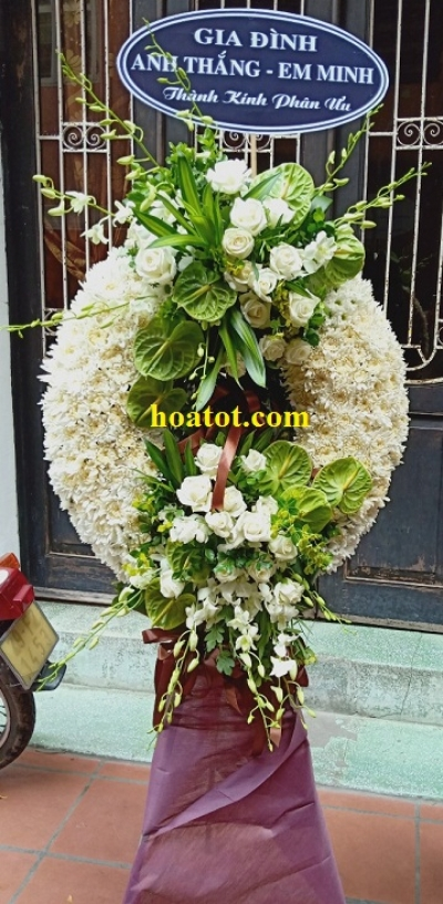 Hoa tang lễ - DH590