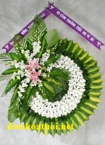 Hoa tang lễ giá rẻ - DH398