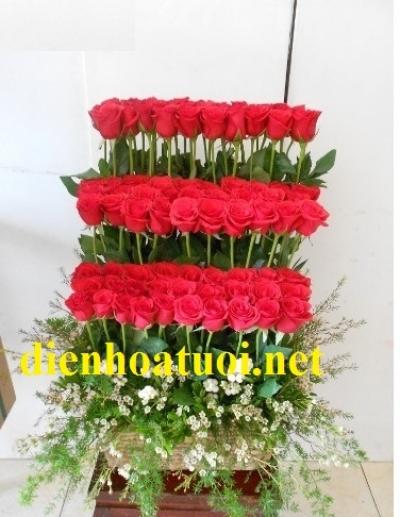 Hoa tình yêu tầng - DH825