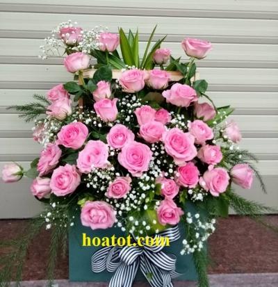 Giỏ hoa chúc mừng - DH600