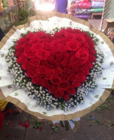 Hoa tình yêu lãng mạn - DH02