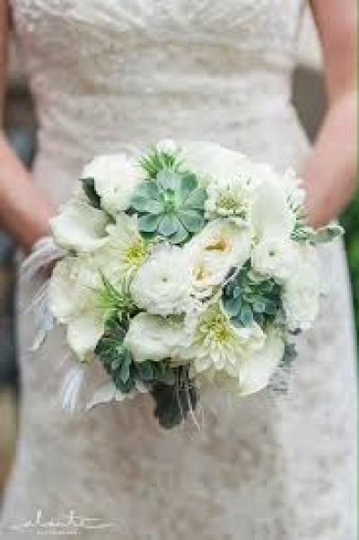 Bó hoa cầm tay cô dâu - DH677