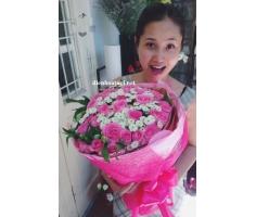 Bó hoa hồng đẹp mã- DH86