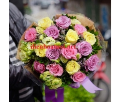 Bó hoa hồng đẹp mã- DH89