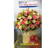 Hoa chúc mừng tròn đẹp - DH188