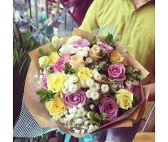 Hoa bó tròn đẹp - DH295